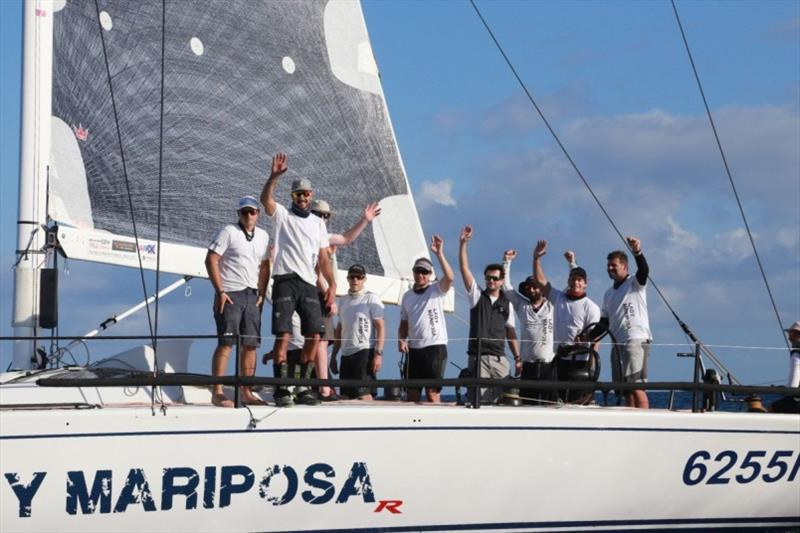 Lady Mariposa: Winner of the IRC Pineapple Cup 34 Montego Bay Race